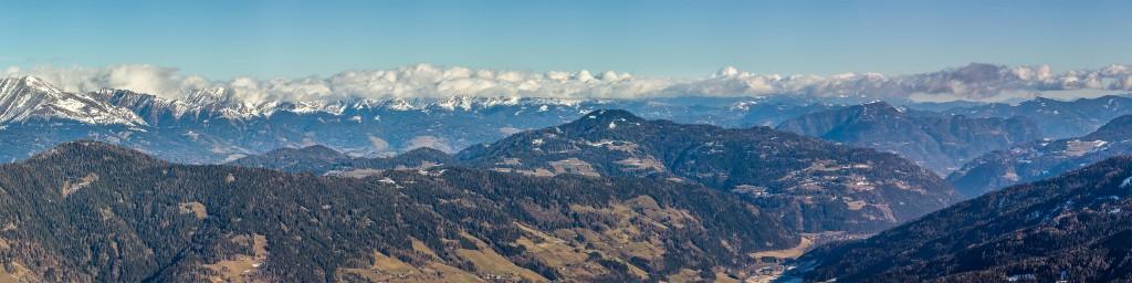 Kreischberg panorama - 2