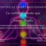 certificat chakras