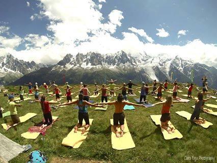 Festival de yoga à Chamonix – 3,4,5 juillet