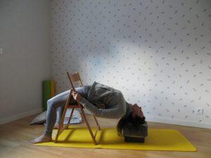 pont avec chaise